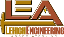 Lehigh Engineering Associates Sticky Logo
